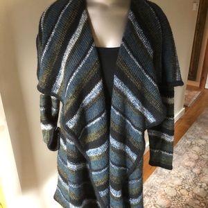 Kenzie Blue Multi Striped Sweater